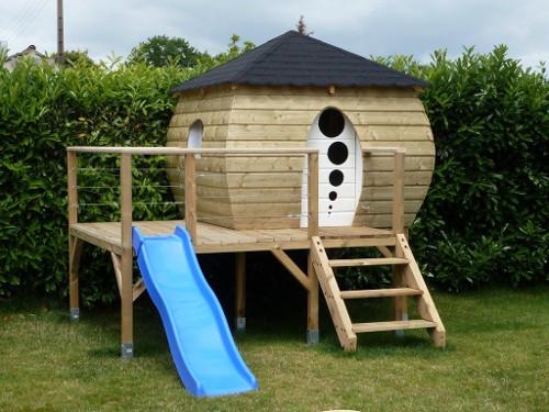 Construction cabane enfant - maison parallele