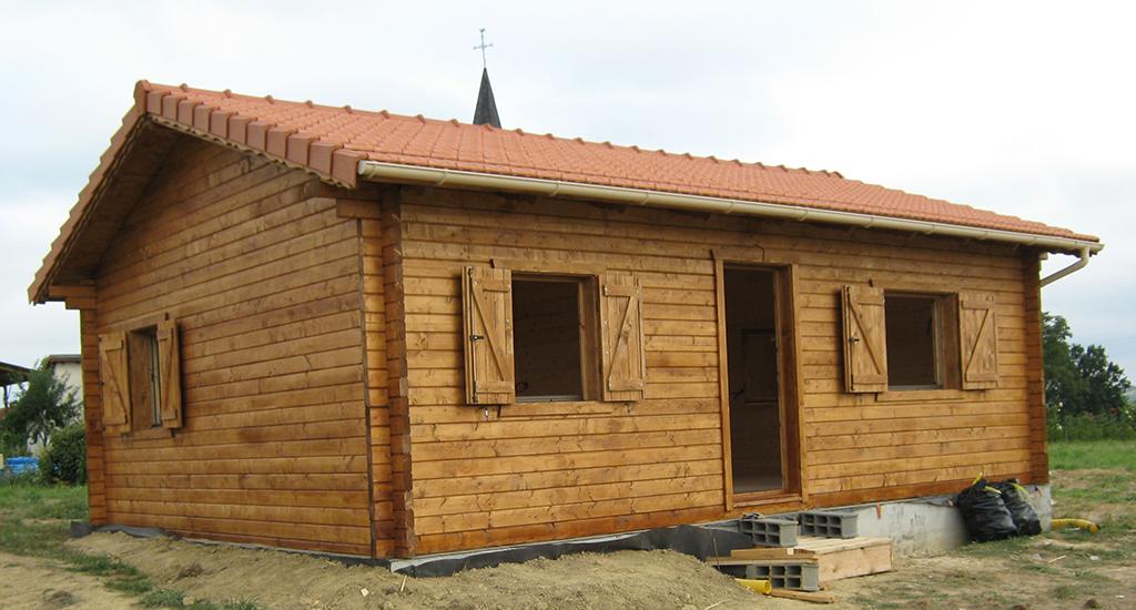 Maison on bois