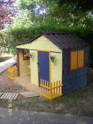 Construire une cabane enfant
