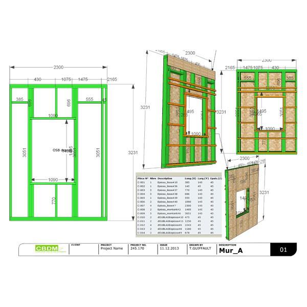logiciel maison ossature bois ventana blog. Black Bedroom Furniture Sets. Home Design Ideas