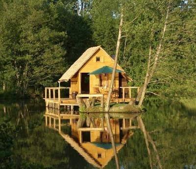 Construire une cabane en bois plan