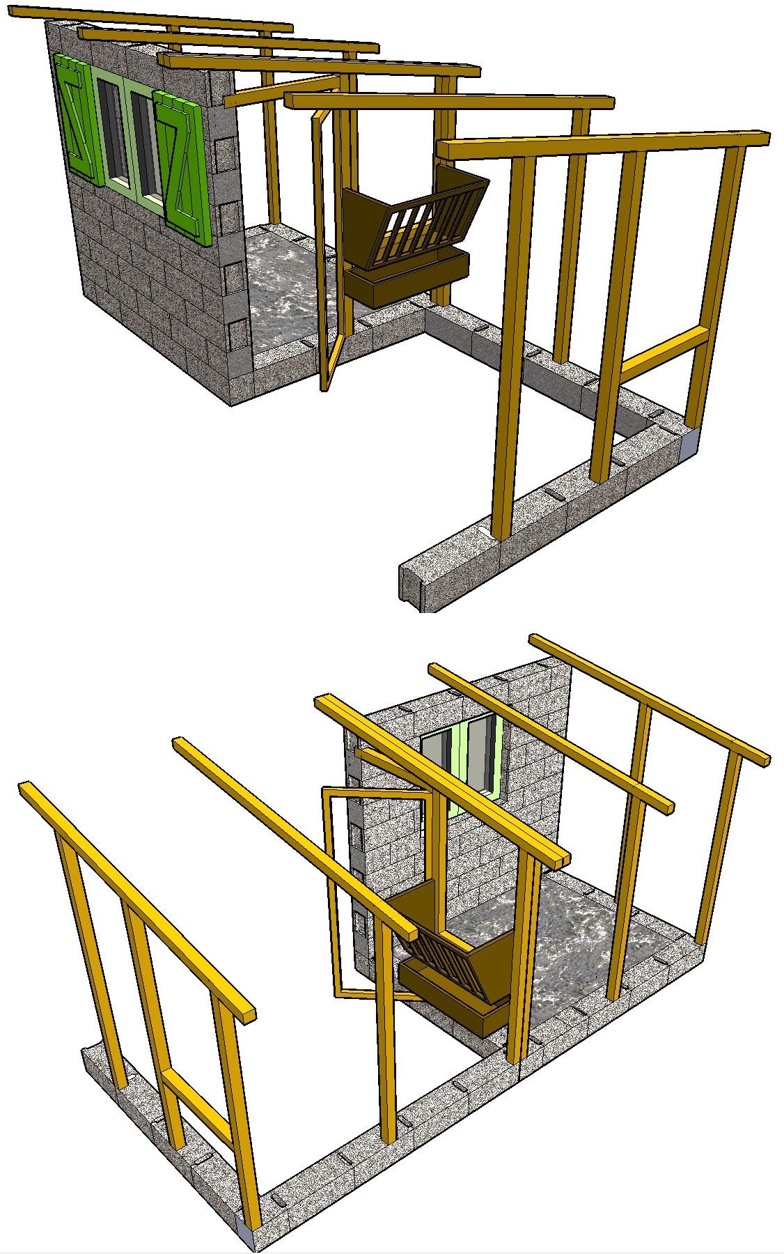 Plan petite cabane en bois