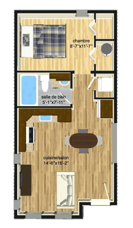 Plan mini maison en bois