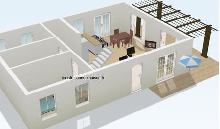 Maison a construire plan