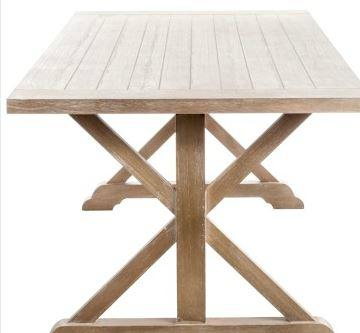 Table en bois exterieur pas cher