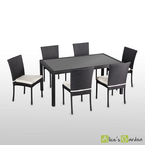 Table et fauteuil de jardin pas cher