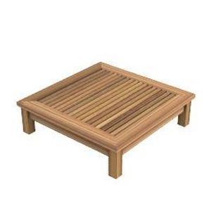 Table basse teck jardin