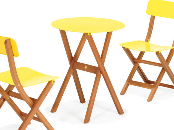 Petite table de jardin - maison parallele