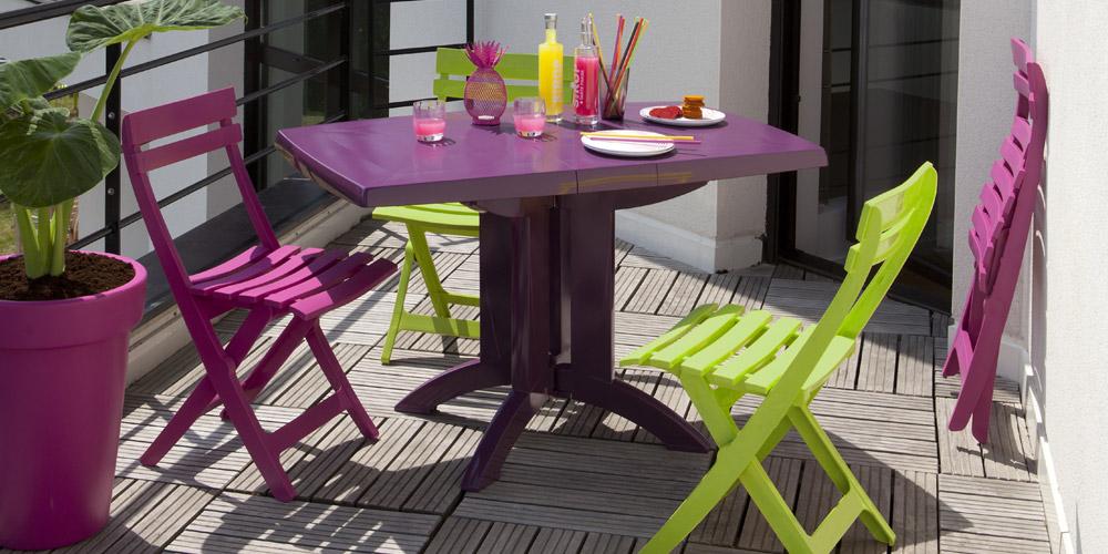 Awesome Salon De Jardin Plastique Pliable Ideas - House Design ...