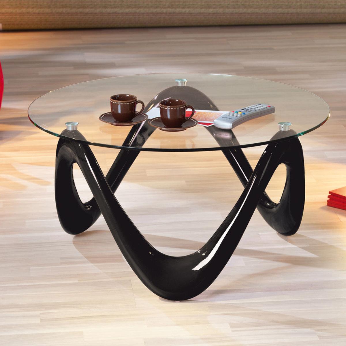 Table basse ronde design pas cher