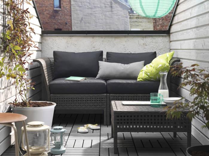 Petit salon de jardin - maison parallele