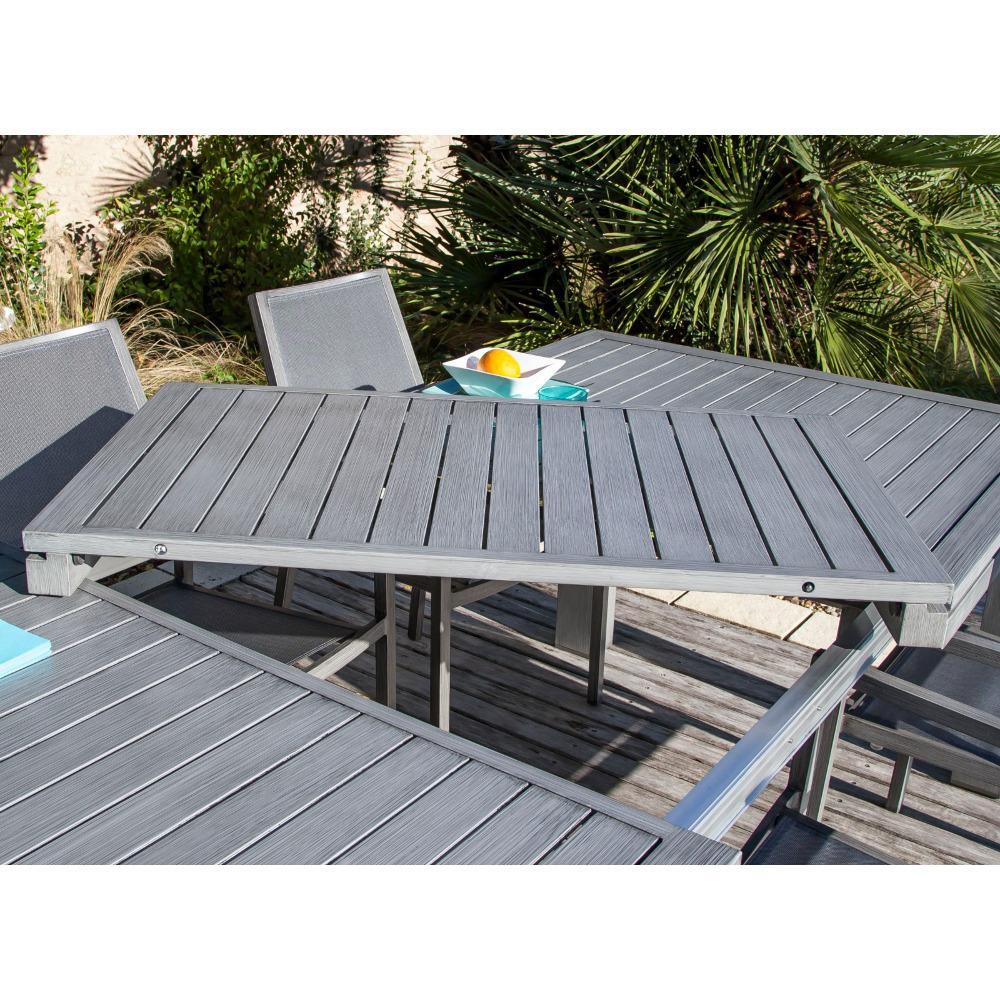 Emejing Table Jardin Aluminium Ice Contemporary - House Design ...