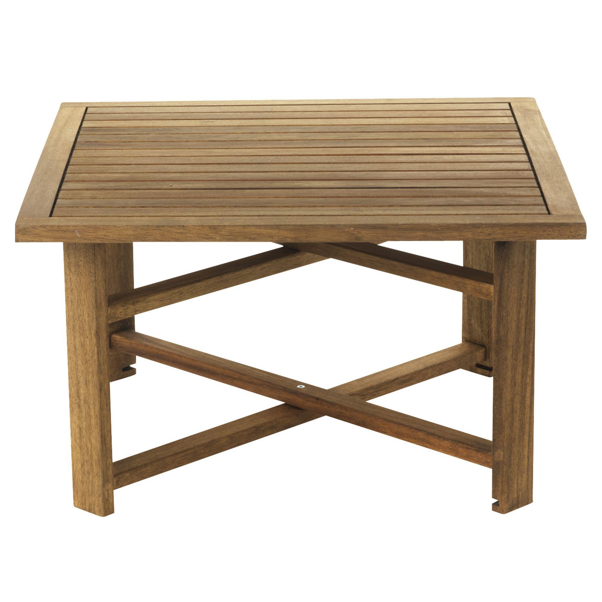 Table basse pliante jardin