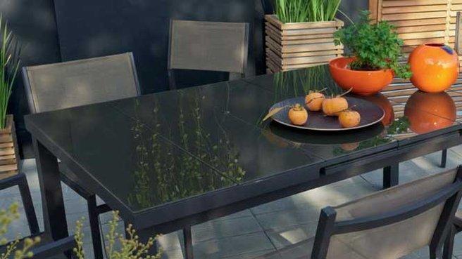 Leroy merlin table de jardin