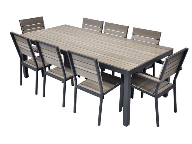 Table de jardin aluminium soldes