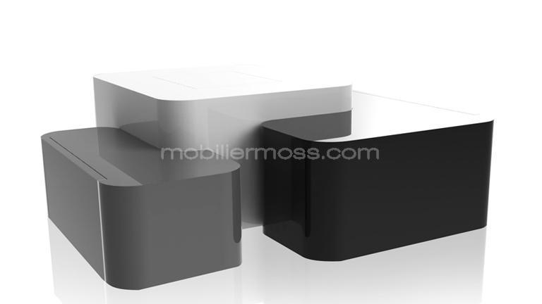 Meuble table basse avec rangement