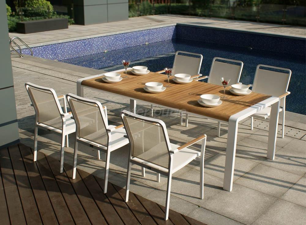 Ensemble Table Et Chaise De Jardin Maison Parallele