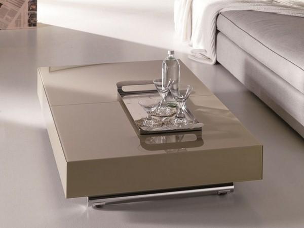 Table basse beige