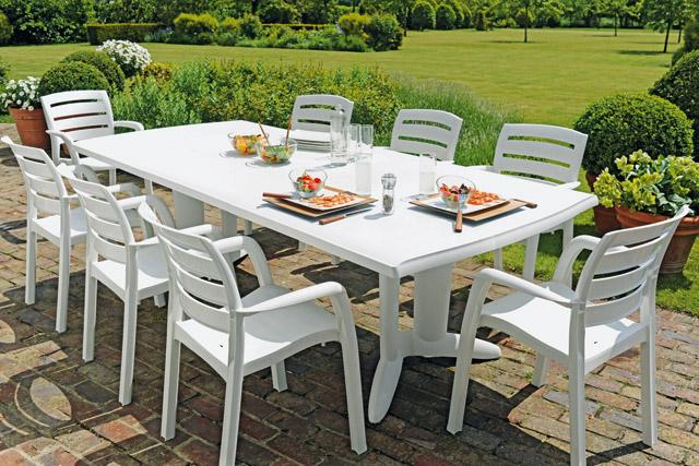 Leclerc table de jardin