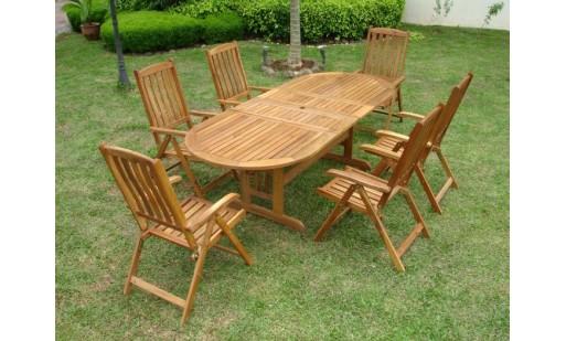 Table jardin en bois pas cher