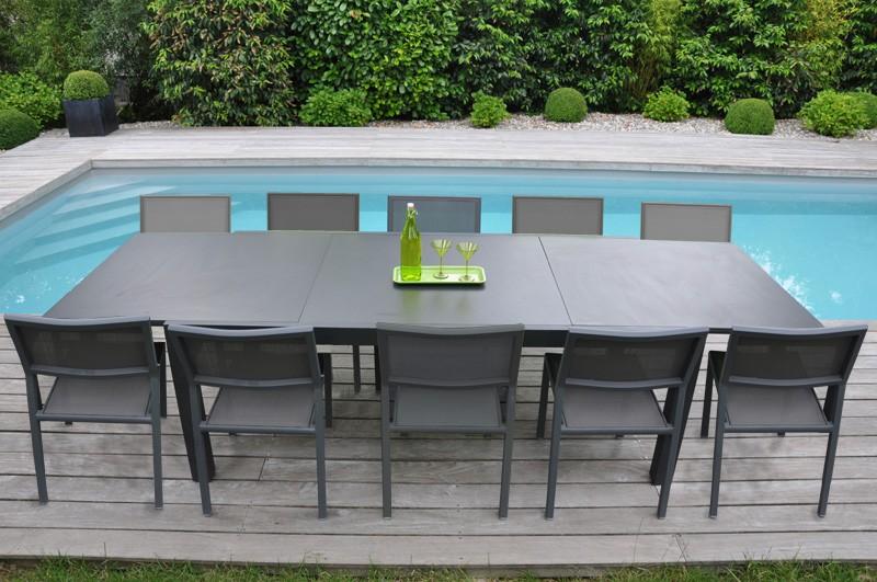 Mobilier de jardin blanc maison parallele - Relooker son salon de jardin en plastique ...