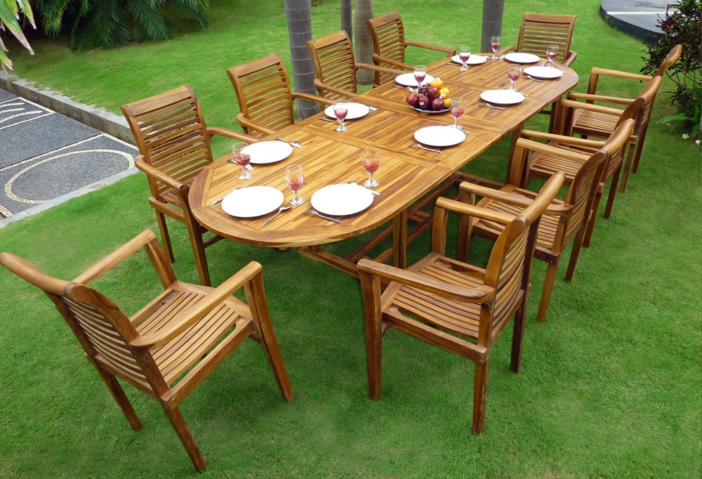 Awesome traitement table de jardin en teck images - Comment nettoyer un salon de jardin en teck ...