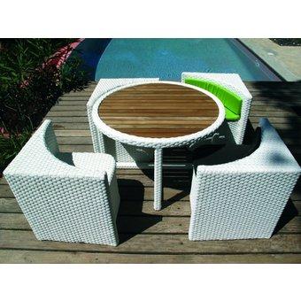 Salon jardin terrasse - maison parallele