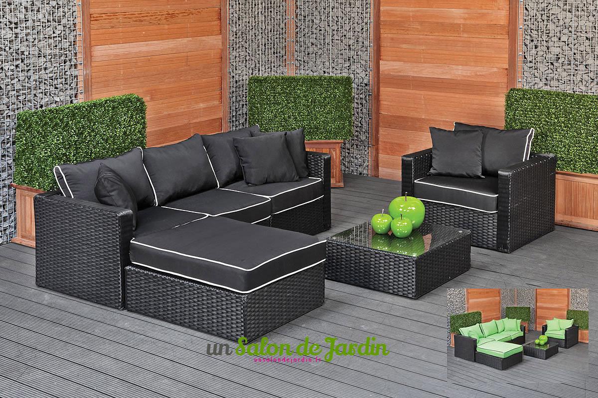Solde salon jardin maison parallele Salon de jardin design en solde