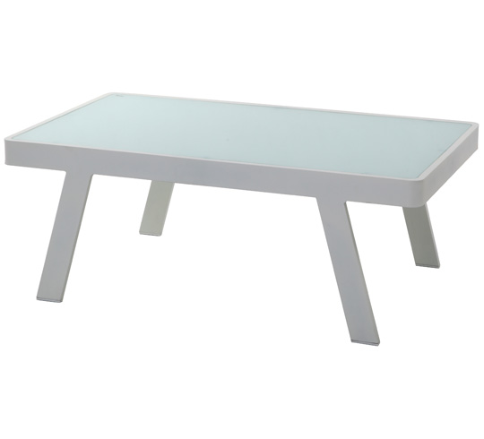 Table basse jardin plastique - maison parallele
