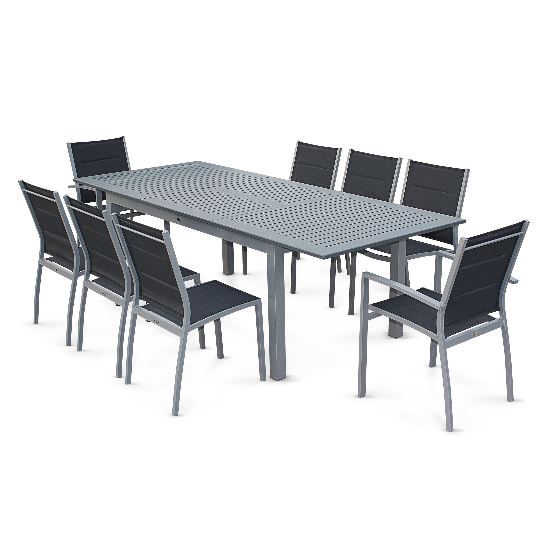 Table jardin aluminium pas cher - maison parallele