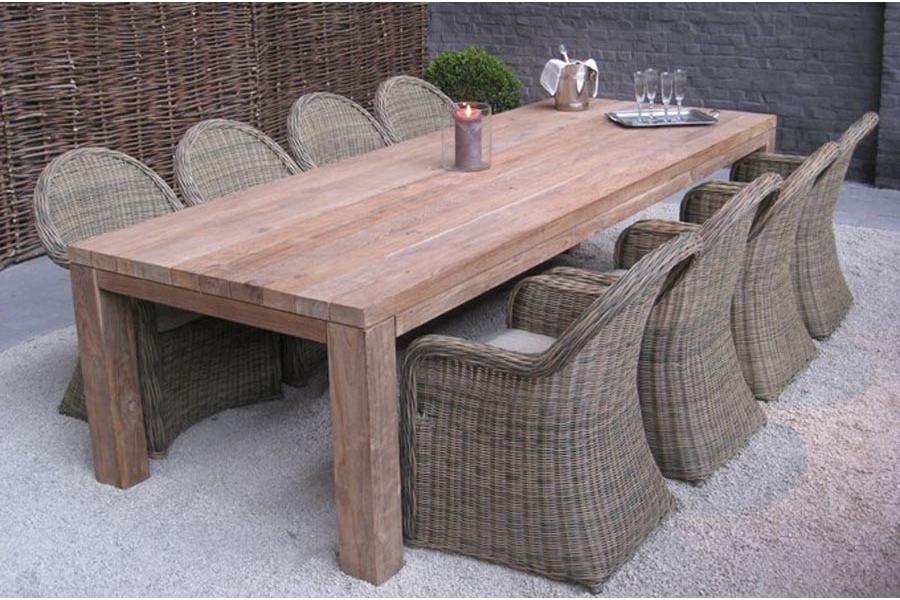 Table extérieure extensible - maison parallele