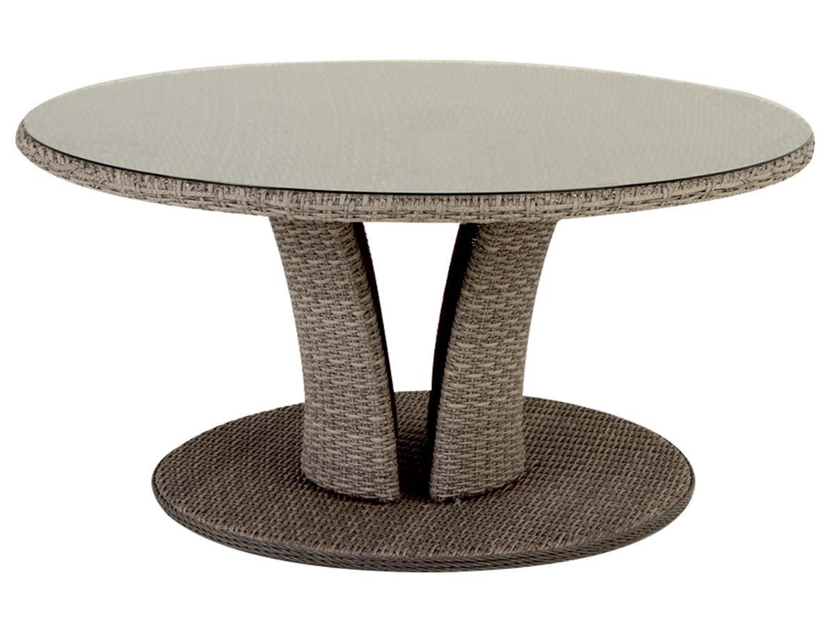 Table de jardin ronde - maison parallele