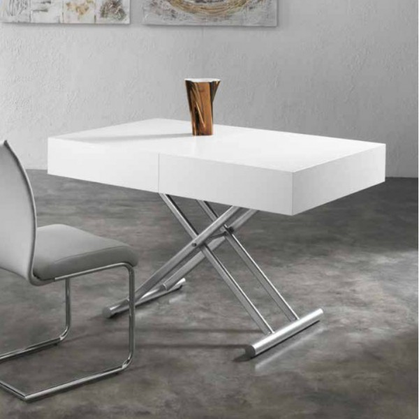 Table blanche salon