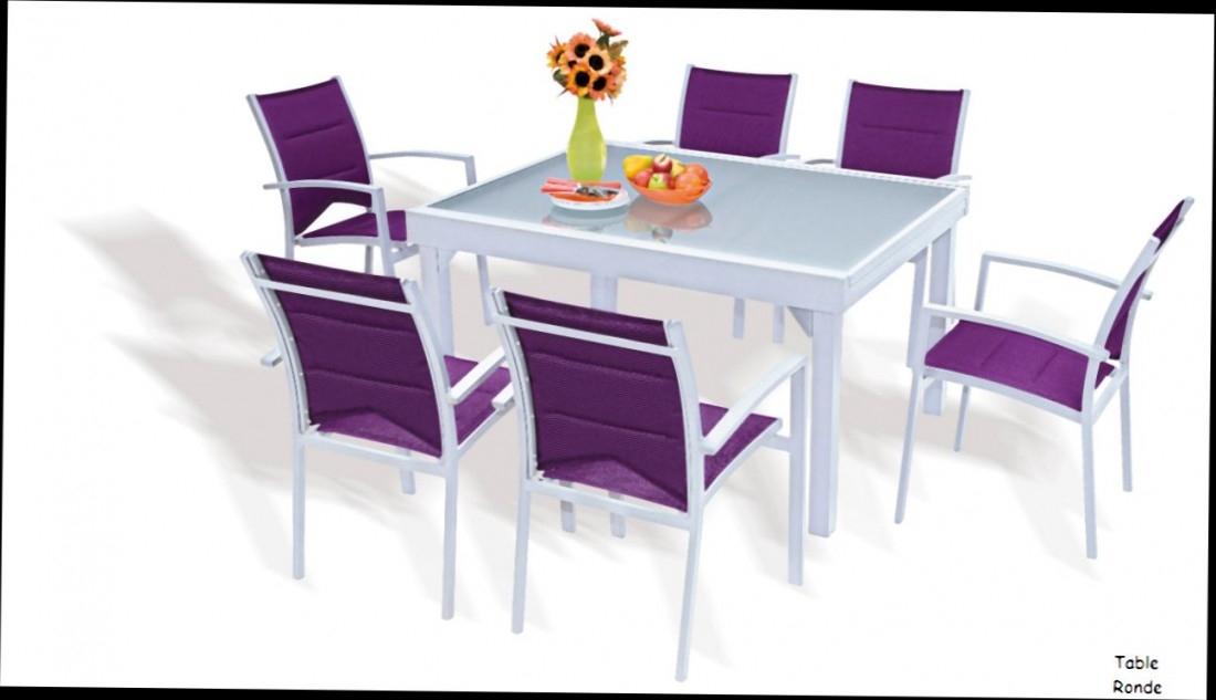 table et chaise de jardin pas cher maison parallele. Black Bedroom Furniture Sets. Home Design Ideas