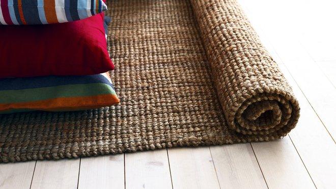 Tapis de fibre naturelle