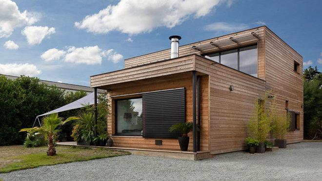 Chalet bois 60m2 prix maison parallele for Constructeur chalet prix
