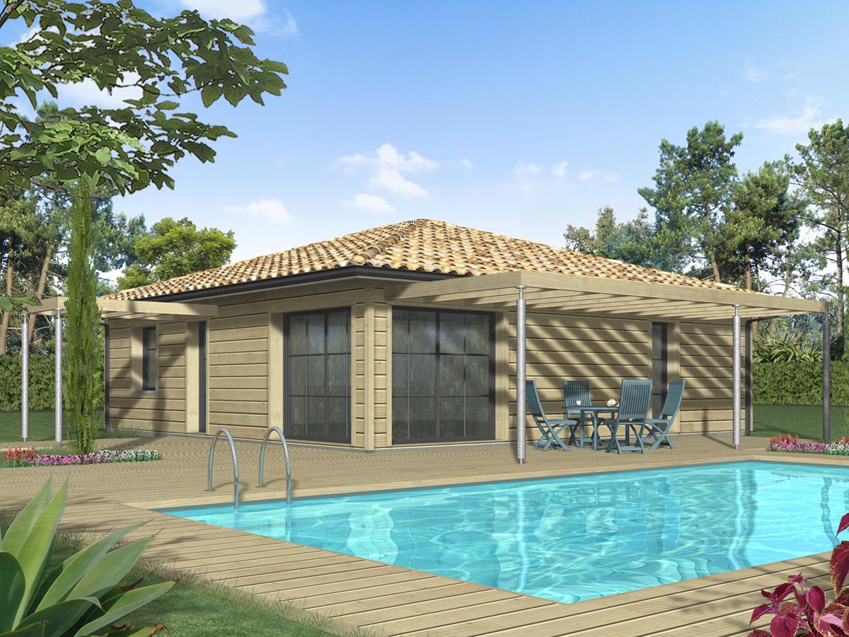 Prix maison ossature bois 90m2 maison parallele for Constructeur chalet prix