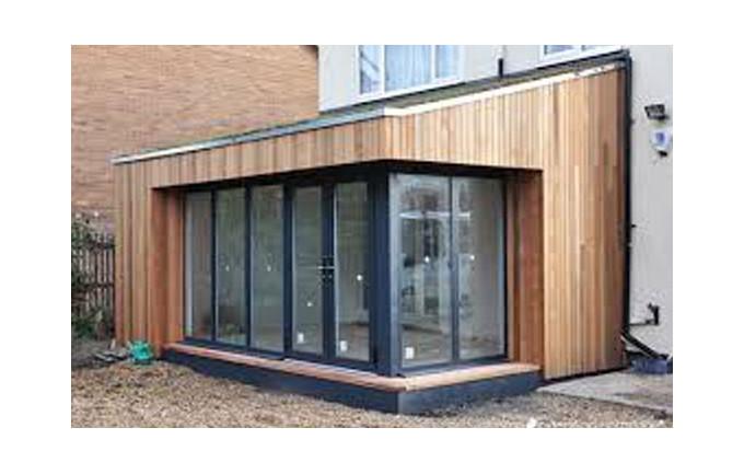 extension maison en bois maison parallele. Black Bedroom Furniture Sets. Home Design Ideas