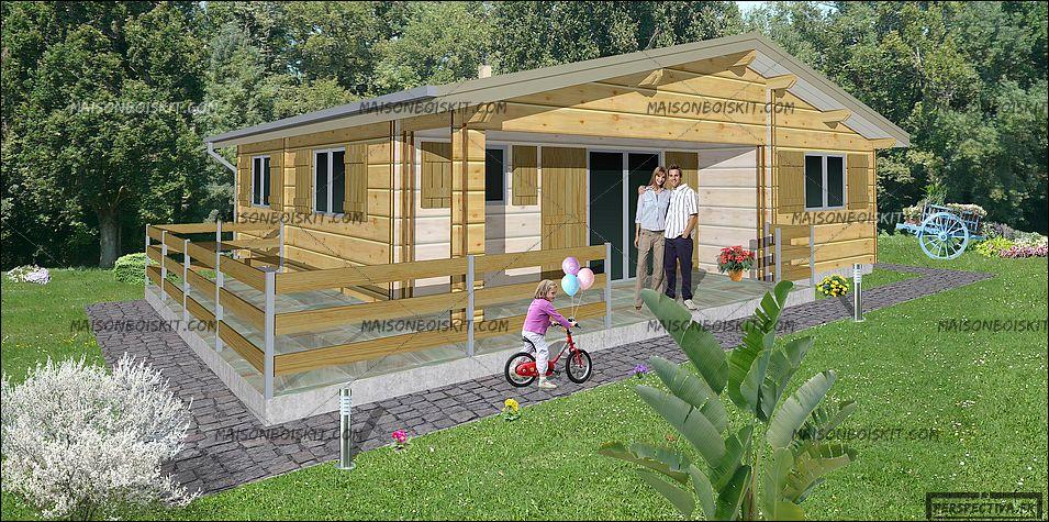 maison pas cher en bois maison parallele. Black Bedroom Furniture Sets. Home Design Ideas
