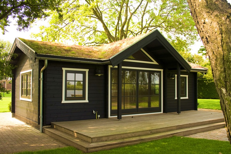 Maison en bois moderne pas cher - maison parallele