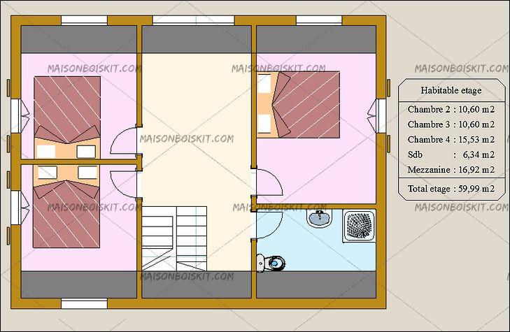 combien coute une maison en bois cl en main maison. Black Bedroom Furniture Sets. Home Design Ideas