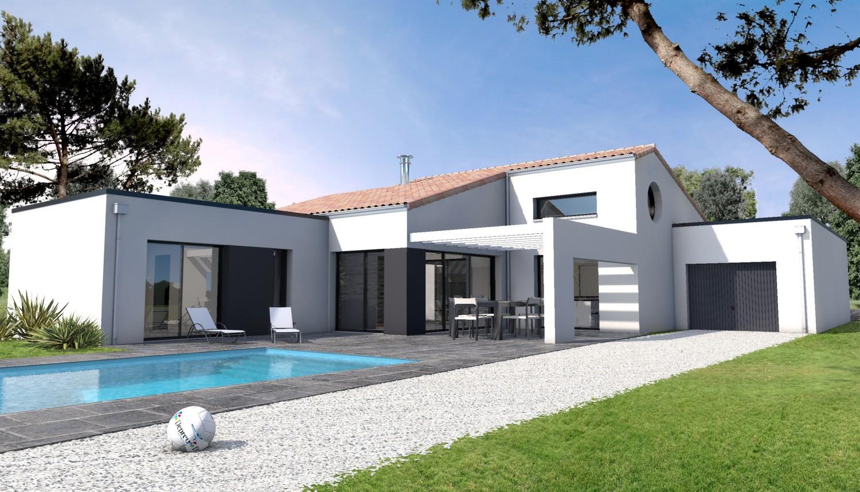 Construction maison moderne
