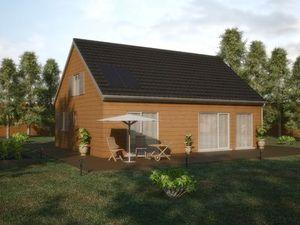 Chalet en bois habitable 80m2 - maison parallele