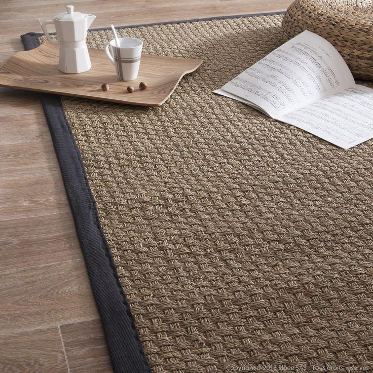 grand tapis en jonc de mer maison parallele. Black Bedroom Furniture Sets. Home Design Ideas