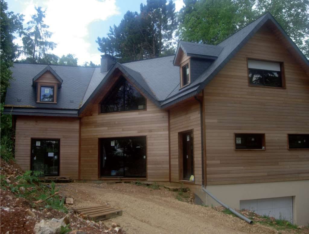 Maison en bois 100 000 euros