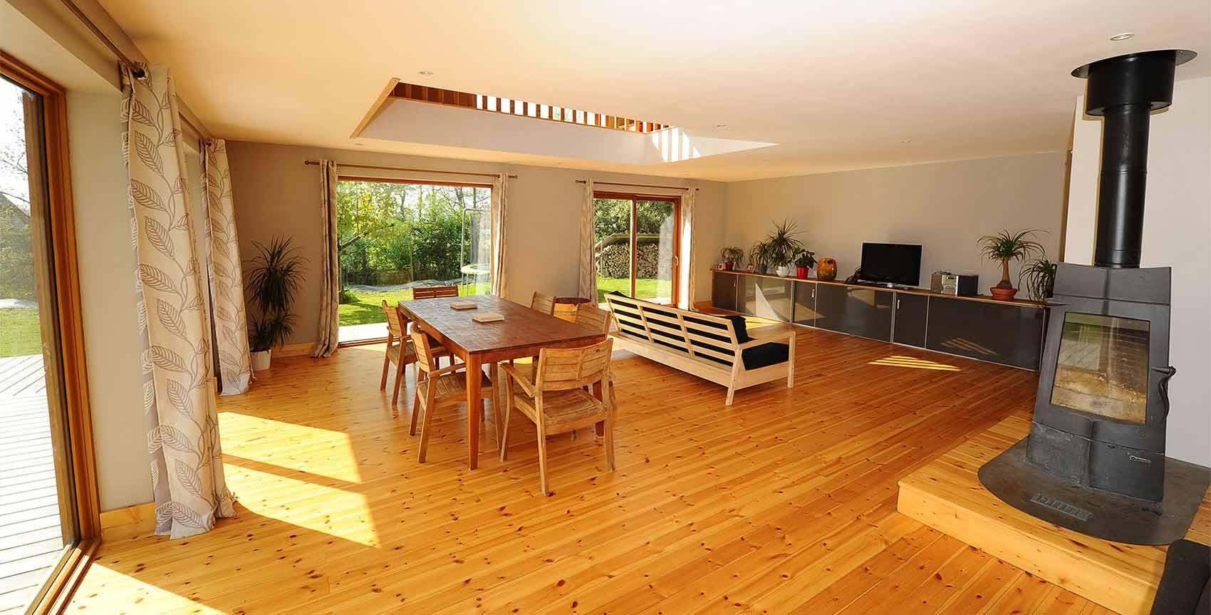 Maison en bois prix tout compris