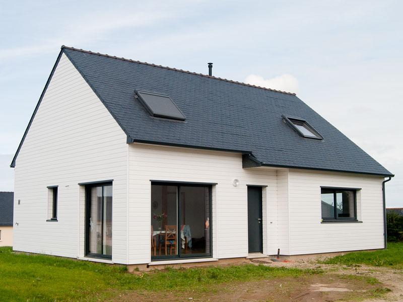 Maison ossature bois constructeur