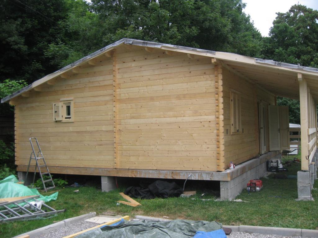 Maison en bois 70m2