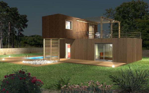 Maison modulaire bois - maison parallele