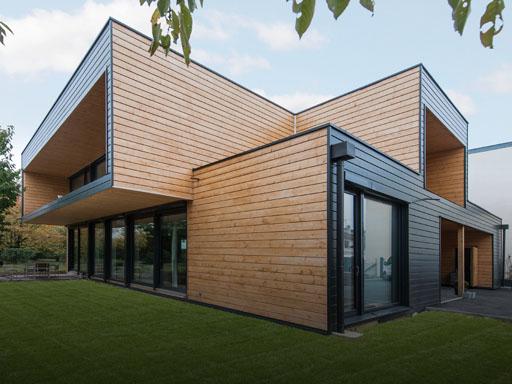 Maison bois contemporaine pas cher - maison parallele